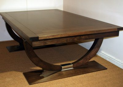 Continental rollover pool dining table