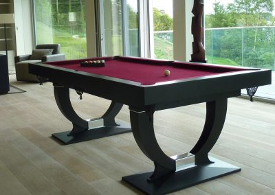 Continental 7ft UK pool table - Charcoal finish
