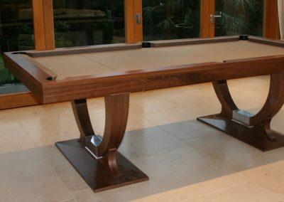 9ft Walnut Continental pool table