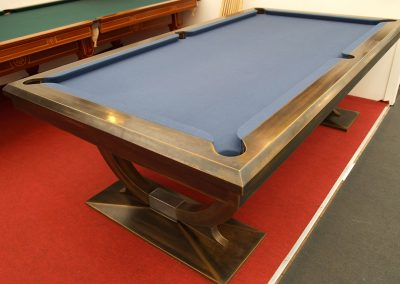 8ft Continental pool table-metallised Bronze finish
