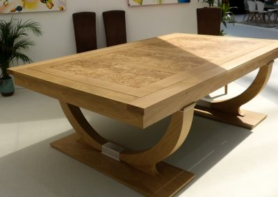 Oak & Ash Continental Rollover pool or snooker dining table