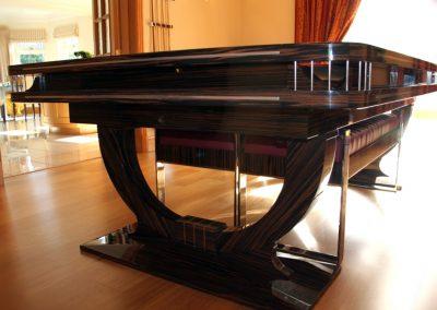Macassar Continental Ball-Runner Snooker-Dining table