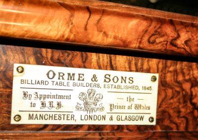 Antique-Orme-Burr-Plaque