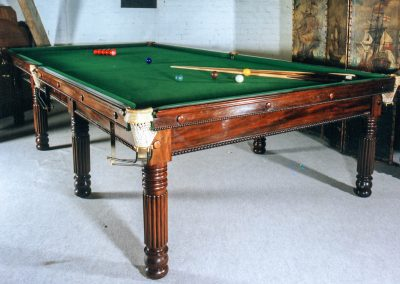 Gillow antique full-size snooker c1795