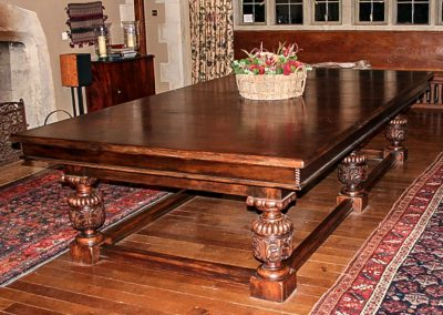 Bentley Refectory style Snooker-dining table with Wind-up-mechanism
