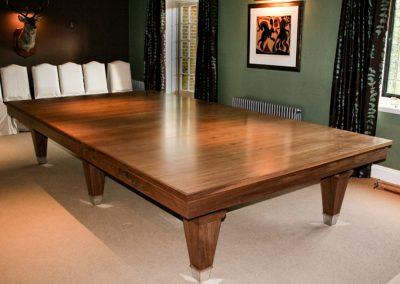 Walnut Lauren Snooker-dining table