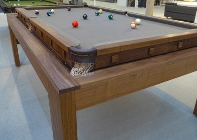 Speed TT Rollover Pool Table-Tennis Dining table