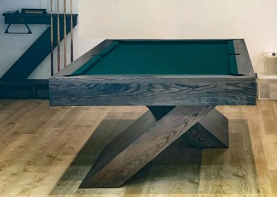 8ft Grey-Ash Cantilever Pool table