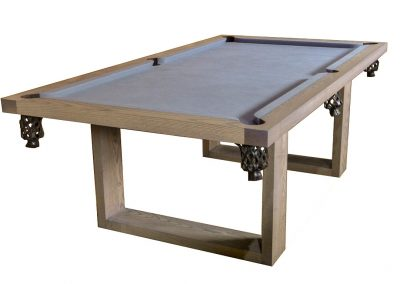 Camargue bespoke pool table - Grey-washed Ash