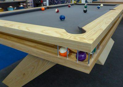 Cantilever Ball Runner bespoke pool table design