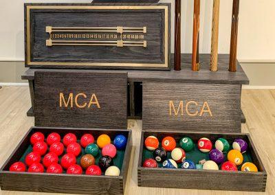 MCA Grey Ash Accessory set