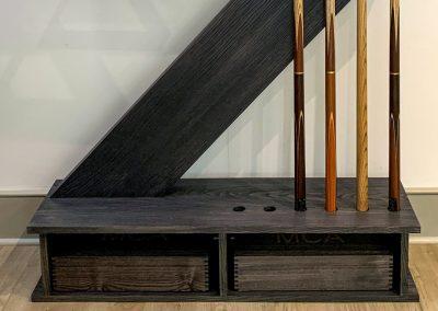 Cantilever Cue-rack Grey Ash