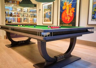 The Continental BR Snooker table